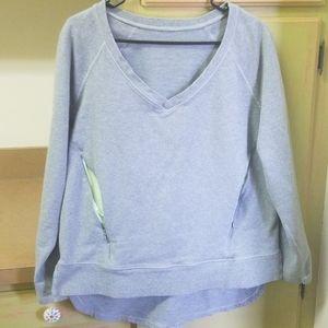Lululemon vneck sweatshirt with muff pocket